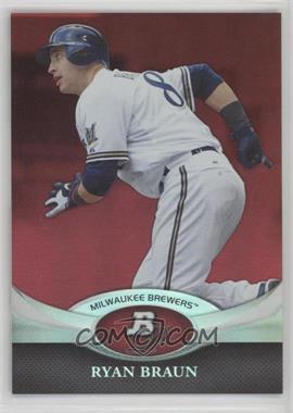 2011 Bowman Platinum - [Base] - Red #17 - Ryan Braun