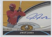 Jiwan James #/50