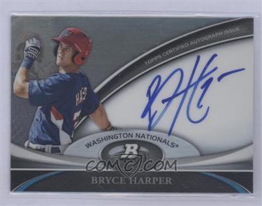 2011 Bowman Platinum - Prospect Autographs #BPA-BH - Bryce Harper [Mint]