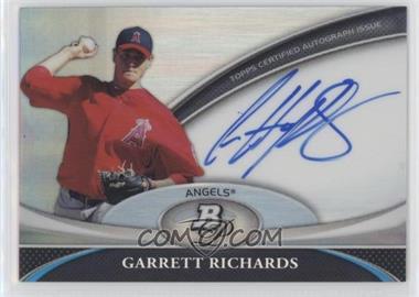2011 Bowman Platinum - Prospect Autographs #BPA-GR - Garrett Richards