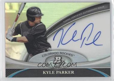 2011 Bowman Platinum - Prospect Autographs #BPA-KP - Kyle Parker