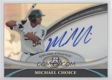 2011 Bowman Platinum - Prospect Autographs #BPA-MC - Michael Choice