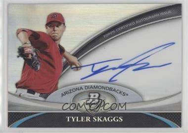2011 Bowman Platinum - Prospect Autographs #BPA-TS - Tyler Skaggs