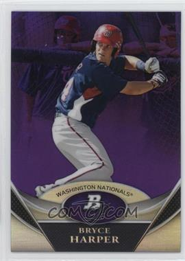 2011 Bowman Platinum - Prospects - Retail Purple Refractor #BPP1 - Bryce Harper