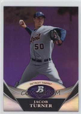 2011 Bowman Platinum - Prospects - Retail Purple Refractor #BPP25 - Jacob Turner
