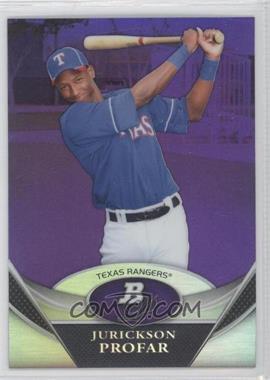 2011 Bowman Platinum - Prospects - Retail Purple Refractor #BPP34 - Jurickson Profar