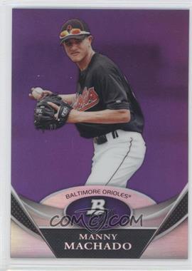 2011 Bowman Platinum - Prospects - Retail Purple Refractor #BPP83 - Manny Machado