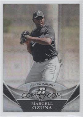 2011 Bowman Platinum - Prospects - X-Fractor #BPP88 - Marcell Ozuna