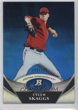 2011 Bowman Platinum - Prospects Refractor - Blue #BPP30 - Tyler Skaggs /199