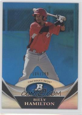 2011 Bowman Platinum - Prospects Refractor - Blue #BPP38 - Billy Hamilton /199