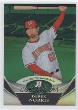 2011 Bowman Platinum - Prospects Refractor - Green #BPP47 - Derek Norris /599