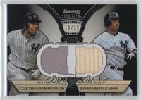Curtis Granderson, Robinson Cano /25