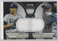 David Price, Felix Hernandez /25