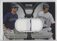 Troy Tulowitzki, Carlos Gonzalez /25