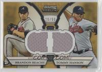 Brandon Beachy, Tommy Hanson /50