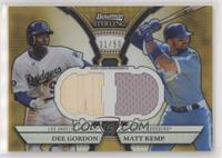 Dee Gordon, Matt Kemp /50