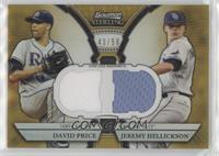 David Price, Felix Hernandez #/50