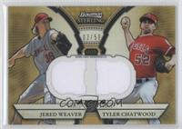 Jered Weaver, Tyler Chatwood #/50