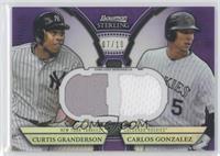 Curtis Granderson, Carlos Gonzalez /10