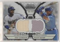 Dee Gordon, Matt Kemp #/99