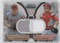 Mark Trumbo, Hank Conger /99
