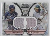 Rickie Weeks, Jemile Weeks #/99