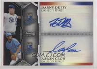 Danny Duffy, Aaron Crow #/25