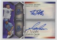 Danny Duffy, Aaron Crow /10