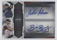 Brandon Beachy, Julio Teheran /225