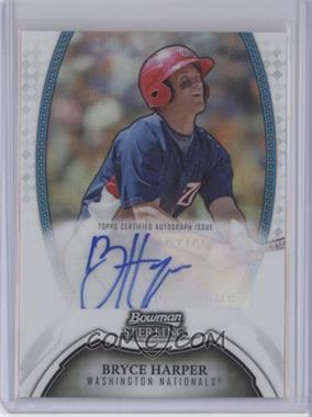2011 Bowman Sterling - MLB Future Stars Autographs - Refractor #BSP-BH - Bryce Harper /199