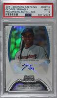George Springer [PSA 9 MINT] #/199