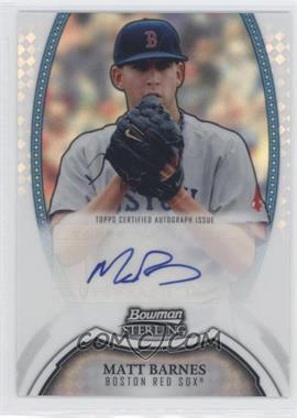 2011 Bowman Sterling - MLB Future Stars Autographs - Refractor #BSP-MBA - Matt Barnes /199