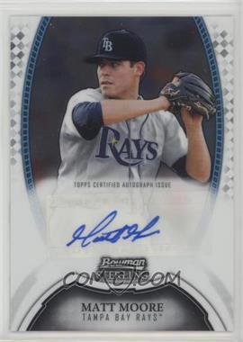 2011 Bowman Sterling - MLB Future Stars Autographs #BSP-MMO - Matt Moore