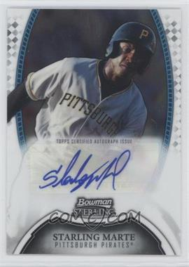 2011 Bowman Sterling - MLB Future Stars Autographs #BSP-SM - Starling Marte