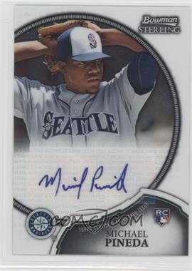 2011 Bowman Sterling - Rookie Autographs #1 - Michael Pineda