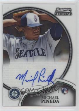 2011 Bowman Sterling - Rookie Certified Autographs #1 - Michael Pineda
