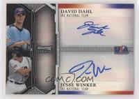 David Dahl, Jesse Winker /25