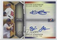 Kevin Gausman, Brian Johnson /50