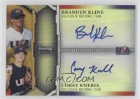 Branden Kline, Corey Knebel /50