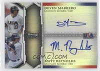 Deven Marrero, Matt Reynolds /50