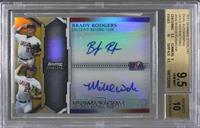 Brady Rodgers, Michael Wacha /50 [BGS9.5]