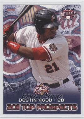 2011 Choice Carolina League Top Prospects - [Base] #15 - Destin Hood