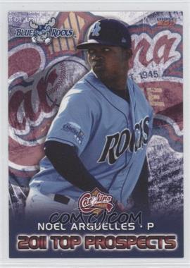 2011 Choice Carolina League Top Prospects - [Base] #22 - Noel Arguelles