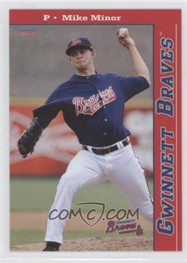 2011 Choice Gwinnett Braves - [Base] #02 - Mike Minor