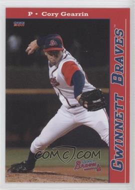 2011 Choice Gwinnett Braves - [Base] #06 - Cory Gearrin