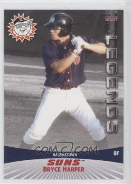 2011 Choice Hagerstown Suns Legends - [Base] #01 - Bryce Harper