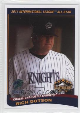 2011 Choice International League All-Stars - [Base] #03 - Rich Dotson