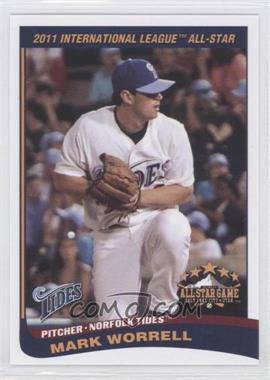 2011 Choice International League All-Stars - [Base] #16 - Mark Worrell