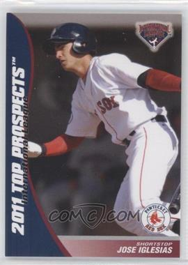 2011 Choice International League Top Prospects - [Base] #10 - Jose Iglesias
