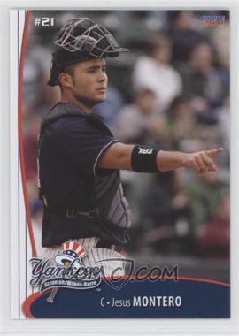 2011 Choice Scranton/Wilkes-Barre Yankees - [Base] #13 - Jesus Montero